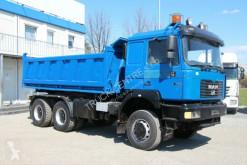 MAN billenőkocsi teherautó 27.414, 6x6, EURO 2, THREE-SIDED TIPPER, TOP