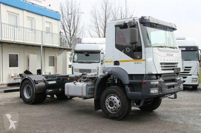 Voir les photos Camion Iveco TRAKKER, EURO 3, 4x4, HYDRAULIC