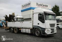 Camion Iveco STRALIS AS 260S42 KRAN/CRANE HIAB166E-4-4600 KG plateau occasion