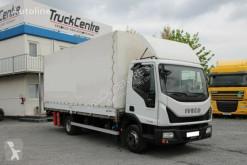 Iveco ponyvával felszerelt plató teherautó EUROCARGO 75E160, EURO 6, TAIL LIFT