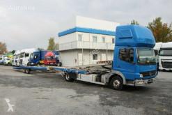 Camión Mercedes ATEGO 822 + TRAILER OBERMANN MB 5500 portacoches usado