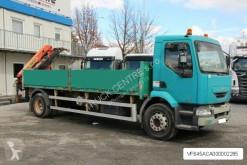 شاحنة منصة Renault MIDLUM 270.18/C, EURO 3, CRANE/KRAN PALFINGER