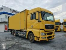 Ciężarówka furgon MAN TGX 26.400, 6x2, EURO 4, TAIL LIFT, LIFTING AXLE