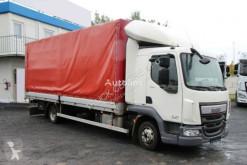 Camião caixa aberta com lona DAF LF 180 FA, EURO 6, TOP CONDITION, 183 000 KM