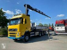 Camion Volvo FH FH 480 8X4 Kran Hiab 244 E-7 Hipro + Remote cassone fisso usato