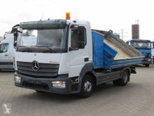 Camion ribaltabile trilaterale Mercedes Atego 823 2-Achs Kipper