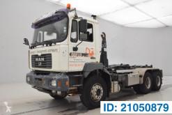 Kamión MAN FE 410 hákový nosič kontajnerov ojazdený