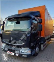 Camion Renault Midlum 220.12 Teloni scorrevoli (centinato) usato