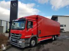 Mercedes Actros 2541 L Getränkepritsche LBW RFK Schiebepl LKW gebrauchter Pritsche Getränkewagen