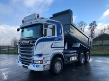 Camion Scania R520 6X4 RETARDER EURO 6 MULDENKIPPER ribaltabile usato