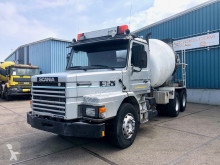Scania T92-280HL LONG-NOSE FULL STEEL CONCRETE MIXER (MANUAL GEARBOX / FULL STEEL SUSPENSION / AIRCONDITIONING) truck used concrete mixer concrete