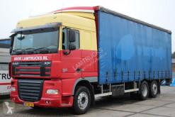 Camion DAF 105.410 A.P.K. / T.U.V. 25-11 2021 Teloni scorrevoli (centinato) usato