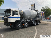 Camión hormigón cuba / Mezclador MAN 32.342 Full steel - Manual - Mech pump - 9M3