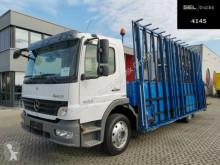 Mercedes Atego Atego 1224 / Glastransport / TEREX Kran LKW gebrauchter Pritsche Plattentransport