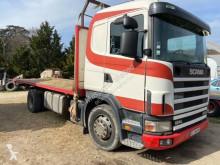 斯堪尼亚R124卡车 470 底盘 草料运输车 二手