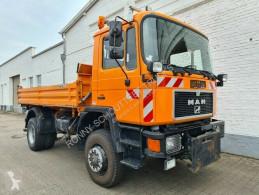 Camion MAN 17.222 FAK 4x4 BB 17.222 FAK 4x4 BB, Winterdienstausstattung tri-benne occasion