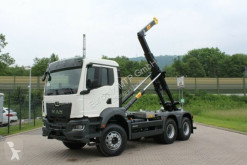 Camion MAN TGS TGS 33.430 6x4 / Euro6d Abrollkipper Hyva polybenne occasion