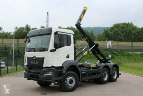 Camion MAN TGS TGS 33.430 6x6 Euro6d Abrollkipper Hyva polybenne occasion