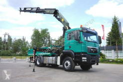 Ciężarówka platforma MAN TGS 18.440 4x4H Palfinger PK 27002 Crane