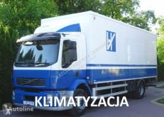 Camião Volvo FL 240 kontener z klapą 18 palet , sprowadzony furgão usado