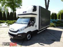Iveco ponyvával felszerelt plató teherautó DAILY35S18