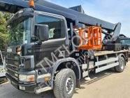 Camião plataforma Scania