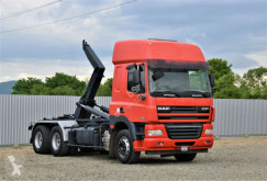 Ciężarówka DAF CF 85.410 Abrollkipper 5,50m *6x4* Top Zustand! bramowiec używana