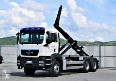Камион MAN TGS 26.400 Abrollkipper 5,50m *6x4* Top Zustand! мултилифт втора употреба