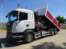 Camião Scania R 420 estrado / caixa aberta usado