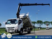Fuso 7C15 hiab 088e-3 duo truck used tipper