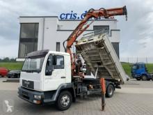 Camion ribaltabile MAN LE LE 12.220 4x2 Atlas 75.2-A2 Greifersteuerung Kip