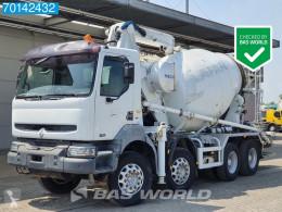 Camión Renault Kerax 420 hormigón mezclador + bomba usado