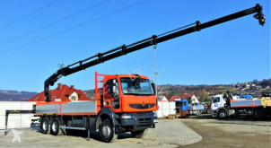 Ciężarówka platforma Renault Kerax 410 DXI + HIAB BS-3HIDUO+FUNK /6x4