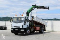 Ciężarówka platforma Iveco EUROCARGO 180E24 Kipper 4,70m + PK15500 + FUNK !