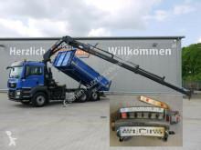 Camión volquete volquete trilateral MAN TGS TGS 28.440 6x2-4*Pritarder*HIAB 188ES4*Funk*5+6.
