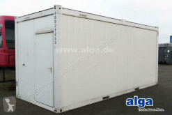 Material de obra Matériel 20 Fuß Sanitär Container, Toiletten, Baustelle