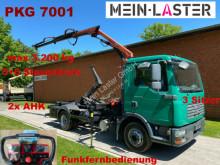 MAN TGL TGL 9.210 Palift + PK 7001 Funk FB -3 Sitzer truck used hook arm system