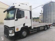 Camión caja abierta transporta paja Renault T-Series 460.26 DTI 11