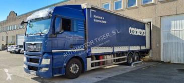 Kamión plachtový náves MAN TGX 26.440