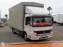 Mercedes ponyvával felszerelt plató teherautó Atego 1018 N