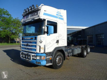 Camion Scania 144-460 / MANUEL / / FULL STEEL / VERY NICE STATE / 1999 / châssis occasion