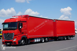 Camion MERCEDES-BENZ ACTROS / 2545 / E 5 / RETARDER / ZESTAW PRZEJAZDOWY 120 M3 + remorque rideaux coulissants Teloni scorrevoli (centinato) usato