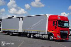 Ciężarówka DAF 106 / 480 / SSC / ACC / EURO 6 / ZESTAW PRZEJAZDOWY 120 M3 + remorque rideaux coulissants firanka używana