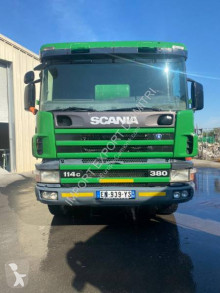 Scania C 114C truck used concrete mixer concrete