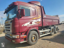 Camion Scania G 124 470 hp tipper-tractor unit truck Volvo-Iveco benne occasion