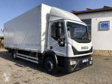 Camión Iveco Eurocargo ML120E22/P Pritsche/Plane + LBW lona corredera (tautliner) usado