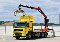 Camion trasporto tronchi Volvo FM 480 Holztransporter 6,40m + EPSILON 165Z/6x4