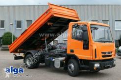 Camião Iveco 80E18 4x2, Euro 5, Meiller, AHK, 3. Sitz, Hydr. tri-basculante usado