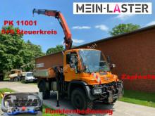Unimog U 500 Agrar Kran PK11001 12,6m Funk 5+6 Steuerk. használt egyéb teherautók