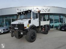 Unimog U1650 truck used three-way side tipper